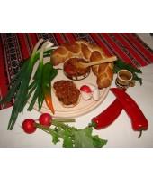 Zacusca cu ghebe (300g)